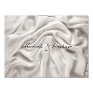 "Cream Wedding Invitation  Set 6.5"" X 8.75"" Invitation Card"