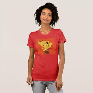 Cream Woman's  FEM #1 Red T-Shirt