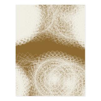 creamy   (42)  abstract art postcard