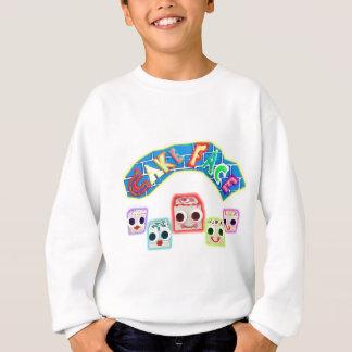 Creamy and The Petit Fours Cake Face Logo Sweatshirt