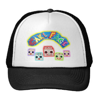 Creamy and The Petit Fours Cake Face Logo Trucker Hat
