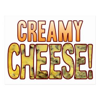 Creamy Blue Cheese Postcard