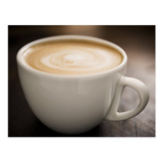 Creamy Coffee Postcard