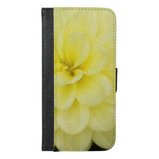 Creamy Dahlia iPhone 6/6s Plus Wallet Case