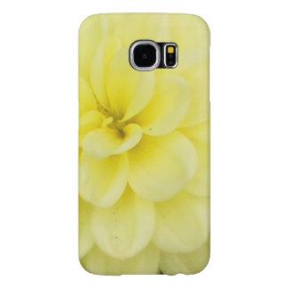 Creamy Dahlia Samsung Galaxy S6 Cases