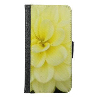 Creamy Dahlia Samsung Galaxy S6 Wallet Case