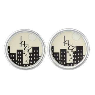 Creamy Jazz Cufflinks