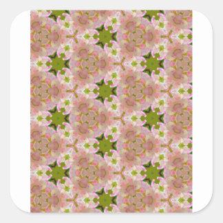Creamy Natural Square Sticker