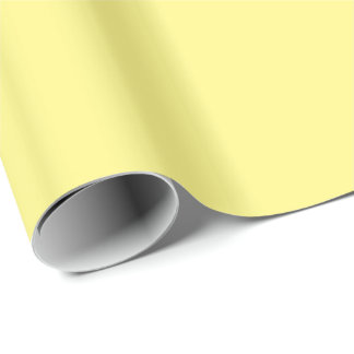 Creamy Pale Pastel Butter Yellow Solid