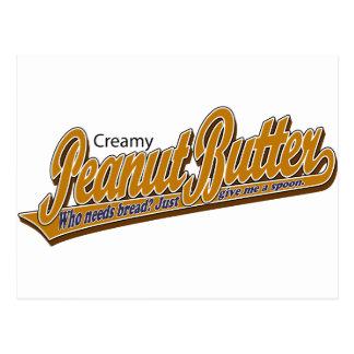 Creamy Peanut Butter Postcard