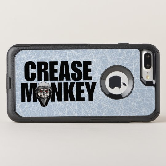 Crease Monkey (hockey) OtterBox Commuter iPhone 7 Plus Case
