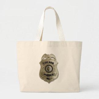 Crease Police Jumbo Tote Bag