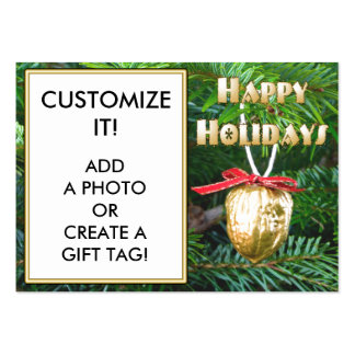 Create a GIFT TAG Large Business Card