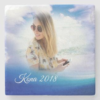Create a Honeymoon Beach Vacation Photo Coaster