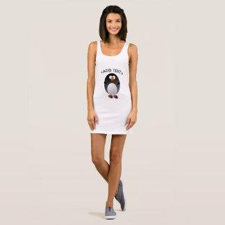 Create a Linux Penguin Sleeveless Dress