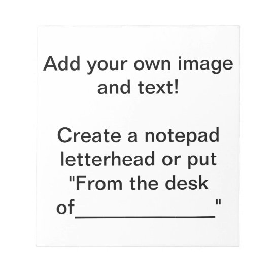 Create a Notepad! Notepad
