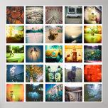 Create a unique and original instagram poster