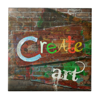 """Create Art"" Urban Design Tile"