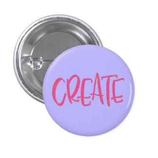 Create badge 1 inch round button