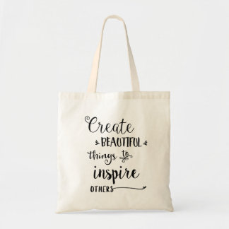 Create Beautiful Things Tote Bag
