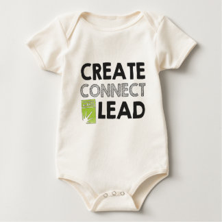Create Connect Lead (light) Baby Bodysuit