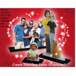 Create Custom 3D Photo Sculptures Cut Out Gift