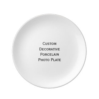 Create Custom Decorative Porcelain Photo Plate Porcelain Plate