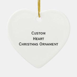 Create Custom Heart Christmas Ornament