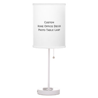 Create Custom Home Office Decor Photo Table Lamp