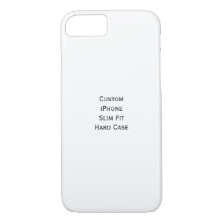 Create Custom iPhone Slim Fit Stylish Hard Case