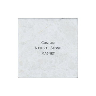 Create Custom Natural Stone Fridge Magnet