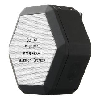 Create Custom Personalized Boom Bass Wireless Black Bluetooth Speaker