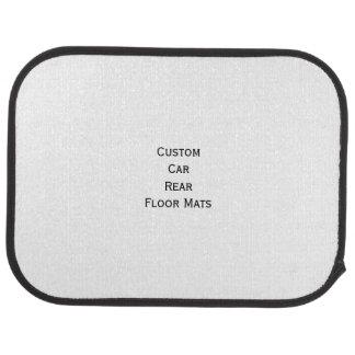 Create Custom Personalized Car Rear Floor Mats Car Carpet