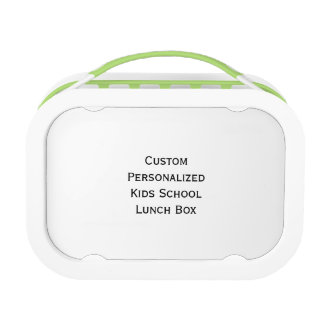 Create Custom Personalized Kids School Lunch Box