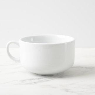 Create Custom Photo Ceramic Soup Mug