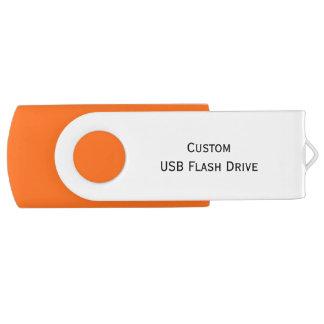 Create Custom USB Flash Drive 8GB-64GB 2.0 & 3.0 Swivel USB 2.0 Flash Drive