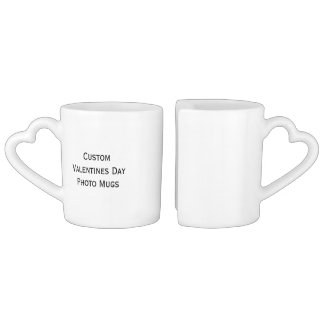 Create Custom Valentines Day Photo Tea/Coffee Mugs