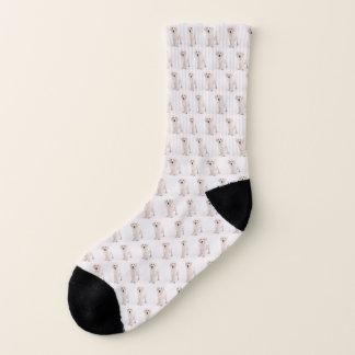 Create Dog Photo Pattern Socks
