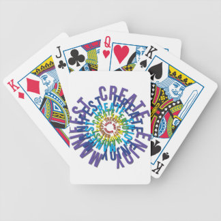 Create Enjoy Manifest - LOA Bicycle Playing Cards