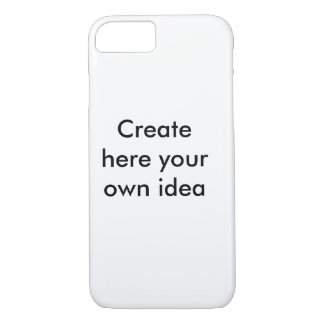 Create here your own idea - by Shirt to Design iPhone 7 Case