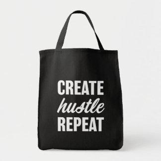 Create Hustle Repeat bag