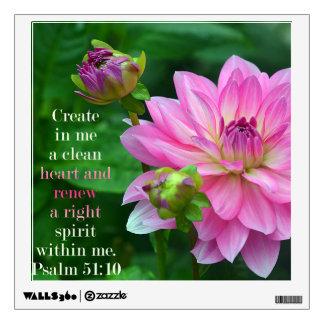 Create In me a clean heart Wall Sticker
