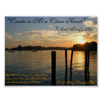 Create in Me Poster