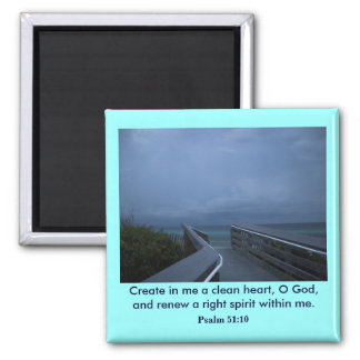 CREATE IN ME SQUARE MAGNET