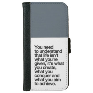 Create Life iPhone 6 Wallet Case