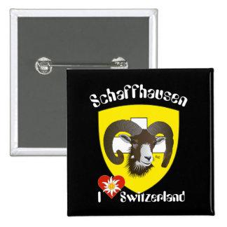 Create-live - Switzerland - Suisse - to Svizzera 2 Inch Square Button
