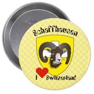 Create-live - Switzerland - Suisse - to Svizzera 4 Inch Round Button