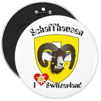 Create-live - Switzerland - Suisse - to Svizzera 6 Inch Round Button