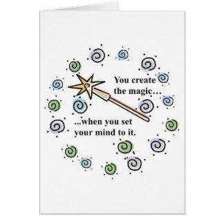 Create Magic Greeting Card