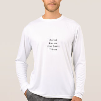 Create Mens Custom Athletic Long Sleeve T-Shirt